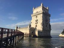 Det Belem tornet i Portugal Fotografering för Bildbyråer