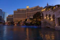 Det Bellagio hotellet i Las Vegas, NV på Maj 20, 2013 Arkivbild