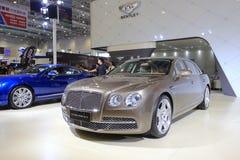 Det Bentley flyget sporrar bilen w12 Arkivbild