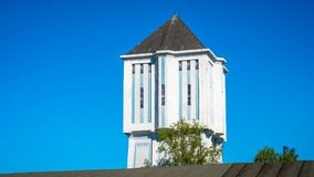 Det berömda Almelo vattentornet 1926 är en holländsk monument Royaltyfria Foton