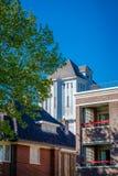Det berömda Almelo vattentornet 1926 är en holländsk monument Arkivbild