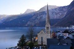 Det berömda stället i Österrike Fotografering för Bildbyråer