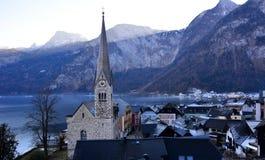 Det berömda stället i Österrike Royaltyfri Foto