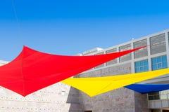 Det Berardo samlingsmuseet av modern konst i Lissabon Arkivfoton