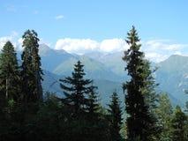 Det bergigt av Svaneti Royaltyfri Fotografi