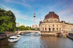 Det bidade museet, Berlin, Tyskland Royaltyfria Foton