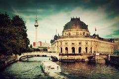 Det bidade museet, Berlin, Tyskland Fotografering för Bildbyråer