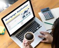Det bosatta godset INTECKNAR rätta för fastighetegenskapsinvestering Royaltyfri Fotografi