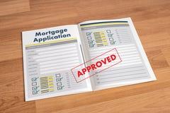 Det bosatta godset INTECKNAR rätta för fastighetegenskapsinvestering Arkivbilder