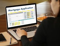 Det bosatta godset INTECKNAR rätta för fastighetegenskapsinvestering Arkivbild