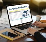Det bosatta godset INTECKNAR rätta för fastighetegenskapsinvestering Arkivfoto
