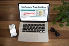 Det bosatta godset INTECKNAR rätta för fastighetegenskapsinvestering Royaltyfri Bild