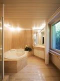 Det breda badet för kopplar av arkivbilder