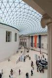 Det brittiska museet Royaltyfri Fotografi