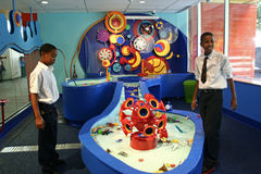 det brooklyn barnmuseet öppnar s Royaltyfri Bild