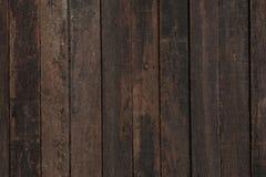 Det bruna trät Arkivbild