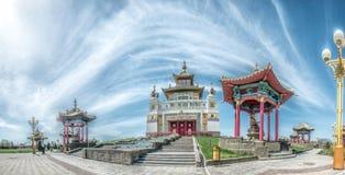 Det buddistiska komplexet Arkivfoton