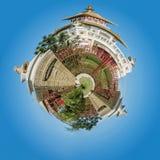 Det buddistiska komplexet Royaltyfria Foton