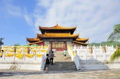 Det buddistiska tempelet Arkivfoton