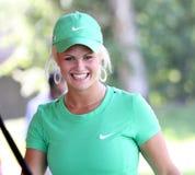 Det Carly båset på golf Evian styrer 2012 royaltyfria bilder