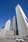 det chicago centra taxar white Arkivfoton