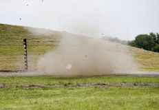 Det chord explosion Royalty Free Stock Photo