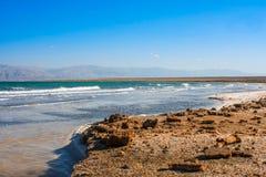 Det döda havet i Israel Royaltyfria Foton