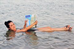 Det döda havet - Israel arkivfoton