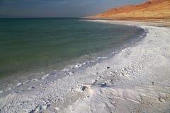 Det döda havet saltar Royaltyfria Foton