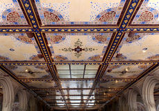 Det d'arcade de passage souterrain de New York City Central Park Bethesda Terrace Images stock