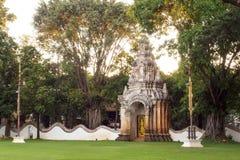 Det Dara Devi hotellet är ett lyxigt hotell i Chiangmai, Thailand Arkivfoto