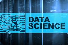 Det datavetenskaps-, affärs-, internet- och teknologibegreppet på serveren hyr rum bakgrund stock illustrationer