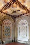 Det de la arcada del paso inferior de New York City Central Park Bethesda Terrace Foto de archivo libre de regalías