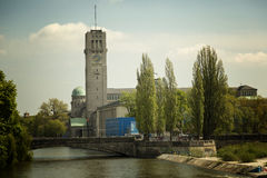 Det Deutsches museet i Munich Fotografering för Bildbyråer