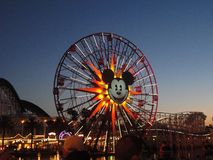 Det Disney affärsföretaget parkerar Kalifornien Royaltyfri Fotografi