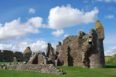 det dunnottar slottet återstår Royaltyfri Fotografi