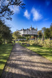 Dunrobin slott (Skottland) Arkivbilder