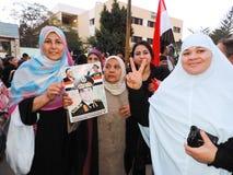 Det egyptiska folket älskar general Sisi Royaltyfria Foton