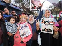 Det egyptiska folket älskar general Sisi Arkivfoto
