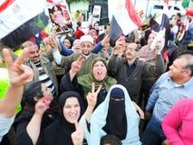 Det egyptiska folket älskar general Sisi Arkivbild