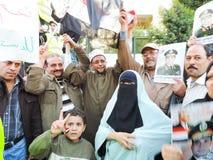 Det egyptiska folket älskar general Sisi Royaltyfria Bilder