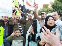 Det egyptiska folket älskar general Sisi Royaltyfri Bild