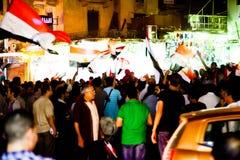 Det egyptiska folket älskar general Sisi Arkivbilder
