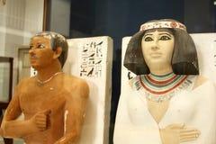 Det egyptiska museet Royaltyfria Bilder