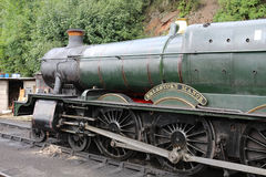 Det Erlestoke säterit bevarade ångamotorn på Bewdley Royaltyfri Bild