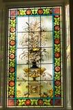Det färgrika fönstret 2 Royaltyfri Fotografi