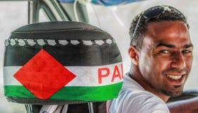 Det färgrika folket av Palestina royaltyfri foto