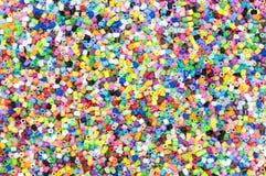 Det färgrikt av det mycket lilla plast- röret Arkivfoton