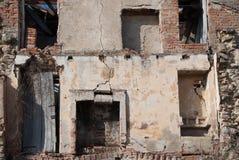 Det förstörda huset som är dekadent, fördärvar fotografering för bildbyråer