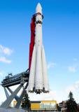 Det första ryska utrymmeskeppet - Vostok Arkivbild